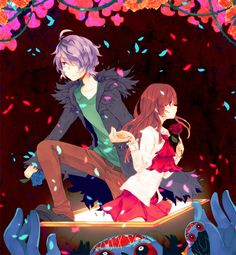 IB is a RPG maker game. It has anime like structure. IB is a horror/romance game(not so much romanc Rpg Maker, Maker Game, Ib Game, Game Art, Baguio, Ib And Garry, Alice Mare, Mad Father, Corpse Party