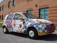 Yet another quilt car
