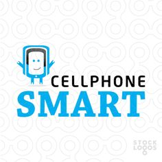 Logo For Sale: Cellphone Smart Communications - #logo #tech #technology #communicate #communications #mobile #app #software #cell #phone #repair #mascot #cartoon #smart #shop #business - #Purchase in: http://stocklogos.com/logo/cellphone-smart-communications