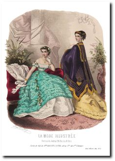 Civil War Fashion, Fashion Plates, Victorian Fashion, Civilization, Fashion Beauty, Places To Visit, Royalty, Painting, History