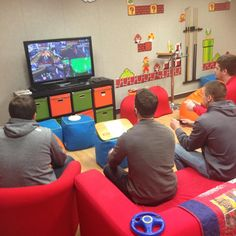 What's the point of having a cool game room if you don't use it? Here is one of the rounds of our Annual Mario Kart tournament - practice up if you want to work at FUN.com!
