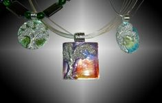 2/10/2014 10:30am - 2:00pm Carrie Story Picturesque Silver Tree Pendant Tucson Gem Show