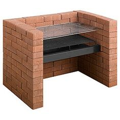 DIY brick BBQ; just add bricks...