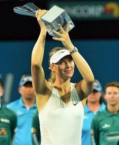 Ganadora en Brisbane 2015.