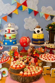 Festa Infantil Dupla | Toy Story | Vestida de Mãe | Blog sobre Gravidez, Maternidade e Bebês por Fernanda Floret