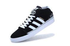 428020a4d3 Adidas Skate Rayado Mid Black White   59.86 Boty Na Bruslení