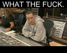 When someone says I like Justin beiber more than Eminem!!