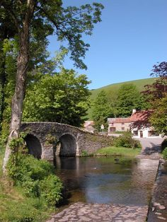 Ford at Malmsmead in #Exmoor National Park http://www.aboutbritain.com/articles/exmoor-national-park.asp