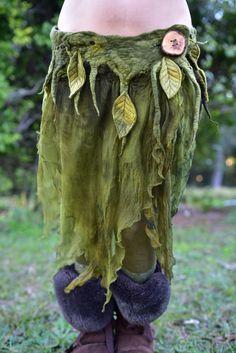 Nuno gefilzt geschmolzene Pixie Wald Nymphe Forest von frixiegirl