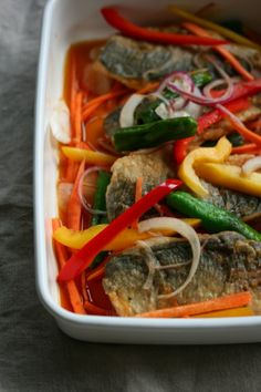 Marinated mackerel