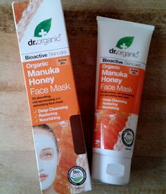 Beauty Insignia - Natural, Ethical and Intelligent Beauty Blog: Dr. Organic Manuka Honey Face Mask (review) Manuka Honey Face Mask, Organic Manuka Honey, Face Treatment, Best Face Products, Organic Skin Care, Beauty Routines, How To Find Out, Natural Face, Bing Images