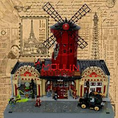 Moulin Rouge   by domino39 Lug'est