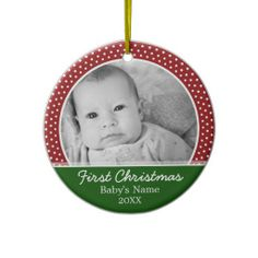 Babys First Christmas Ornament  http://www.zazzle.com/babys_first_christmas_christmas_ornament-175472234875884807?rf=238194283948490074&tc=Pin