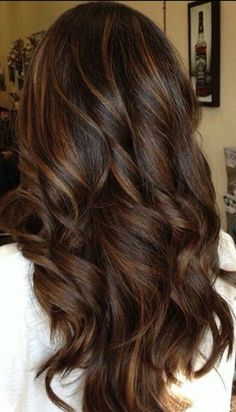 30 Looks with Caramel Highlights on Brown and Dark Brown Hair