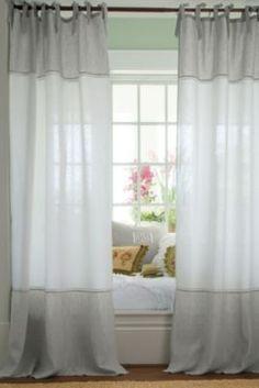 Linen Chambray Drapery Panel from Soft Surroundings