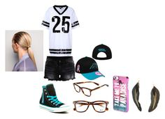 """""""Rory Homer"""" by fangirlwithproblems ❤ liked on Polyvore featuring VILA, Converse, Ray-Ban, DKNY, Aéropostale and MANGO"""