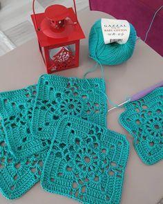 Diy Crafts - Nem érhető el leírás a fényképhez. Crochet Bolero Pattern, Baby Afghan Crochet, Crochet Blocks, Granny Square Crochet Pattern, Crochet Squares, Crochet Blanket Patterns, Crochet Motif, Hand Crochet, Crochet Stitches