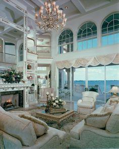 Riverfront Estate Model-Living | by DanielWayneHomes