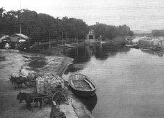 O bucólico rio Tietê no início do século 20 / São Paulo: A cidade que não coube nos planos - Nexo Jornal