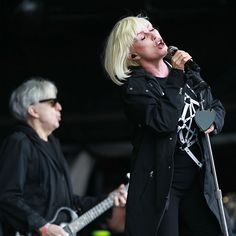 Blondie on the Other Stage at Glastonbury 2014