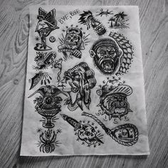 Old School Traditional Tattoo : Photo