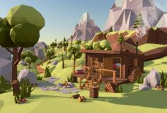 Image result for Low poly