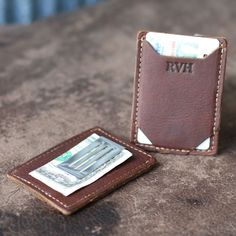 The Trey Money Clip Front Pocket Fine Leather Wallet The Trey money clip wallet is ultra thin and excellent for carrying the essentials. This wallet features a spring tension money clip to keep your bills in place. Not only can it keep your bills secure, it also can hold up to 3-4 cards comfortably. Add …