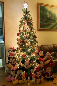 christmas tree this gives me an idea indoor christmas decorations christmas ornaments - Disney Christmas Tree Decorations