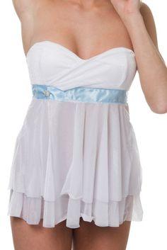 Coquette Lyxig Vit Babydoll. #wedding #babydoll #bröllop #lingerie