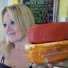 Taren is the Cheese Goddess on West