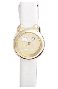 MARC+BY+MARC+JACOBS+'Critter'+Cat+Dial+Watch,+23mm+available+at+#Nordstrom