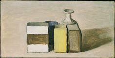 Giorgio Morandi, Giorgio Morandi, Still Life (Natural Morta) 1953. Oil on canvas, 8 x 15-3/4 inches, Washington DC, The Phillips Collection © Giorgio Morandi by SIAE 2008