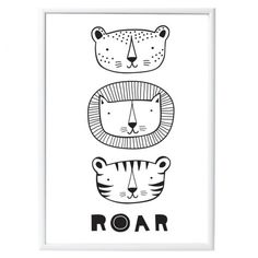 A Little Lovely Company Poster: Roar