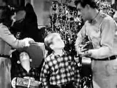 Andy Griffith Christmas Story - Away In A Manger- thia song has always made me cry, even when i was a child!
