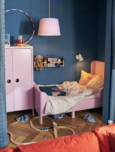 Sometimes I wonder what else we can do with the collection of IKEA furniture? Because according to my experience there is always a fun way with IKEA furniture Small Studio, Girls Bedroom, Ikea Girls Room, Bedroom Ideas, Bedrooms, Create Space, Ikea Furniture, Interiors, Home