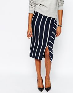 Whistles pencil skirt