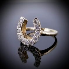 Horseshoe Ring, Quinceanera, Heart Ring, Gold Rings, Engagement Rings, Jewels, Diamond, Yellow, Things To Sell