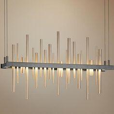"Hubbardton Forge Cityscape LED 25 1/2""W Soft Gold Pendant"