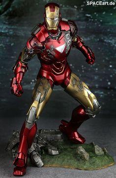 Iron Man 2: Mark VI - Deluxe Figure