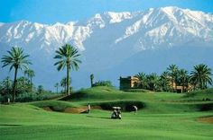 Beautiful scenery on #golfholidays in Morocco