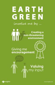 Don't break the hearts of your Earth Green colleagues by overlooking them... Insights Discovery