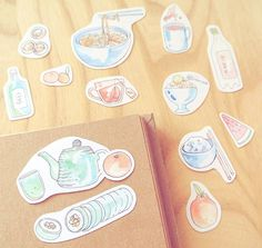 Like the cliché we are, we spent the evening making Kimchi & kimbab all while eating baked sweet potatoes and watching a drama episode...    But hey, the kimbab reminded me of these stickers I recently added to my Etsy collection. #evydraws   #stickers #foodillustration #fooddrawing #koreanfood #lifeinkorea #korean #kimbab #kimbap #greentea #asiancuisine #asianfood #noodlesoup #doodleart #watercolor #watercolordrawing #smallart #artprints #etsy #etsyart #cutestickers #handmadeart #paperad...