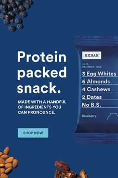 Every ingredient in an RXBAR is there for a reason. The reason? To create a clean protein bar that's good for you and tastes great. Clean Protein Bars, High Protein Recipes, Protein Foods, Low Carb Appetizers, Appetizer Recipes, Snack Recipes, Snacks, Keto Recipes, Shredded Body