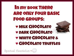 For me, I could do without the white chocolate but I'll take the others anytime!