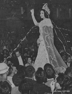 A gaúcha Ieda Maria Vargas, Miss Brasil e Miss Universo 1963.