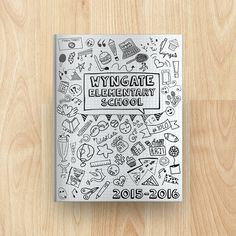Wyngate Elementary School Yearbook Cover 2015-2016                              …