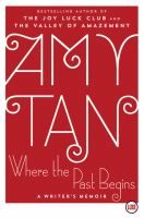 Where the Past Begins: a Writer's Memoir (NF) by Amy Tan.  Release Date 10/17/17.