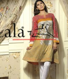 Sana & Samia Digital Embroided Kurti Vol 3. SSK_10