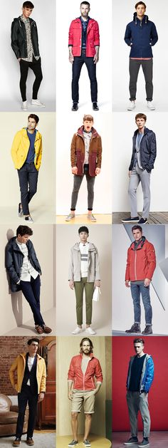 Men's Key Spring Jackets And How To Wear Them: The Tech Jacket Lookbook Inspiration