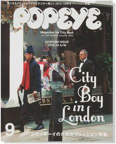 Popeye Magazine for City Boys 2012 Japan